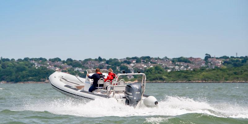 Ballistic 7.8m RIB Sunna Boat Club Trafalgar