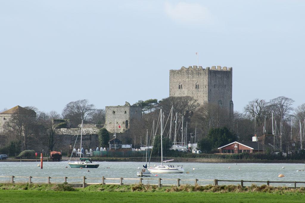 Portchester Castle near Trafalgar Wharf