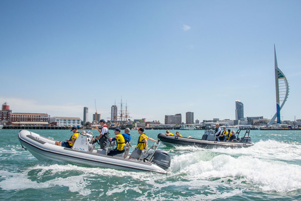 Cruise in Portsmouth Harbour with Boat Club Trafalgar
