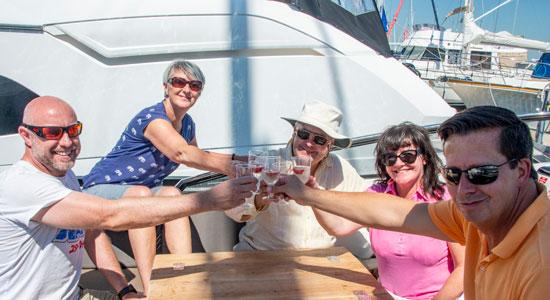 Boat Club Trafalgar Solent Discovery Tours