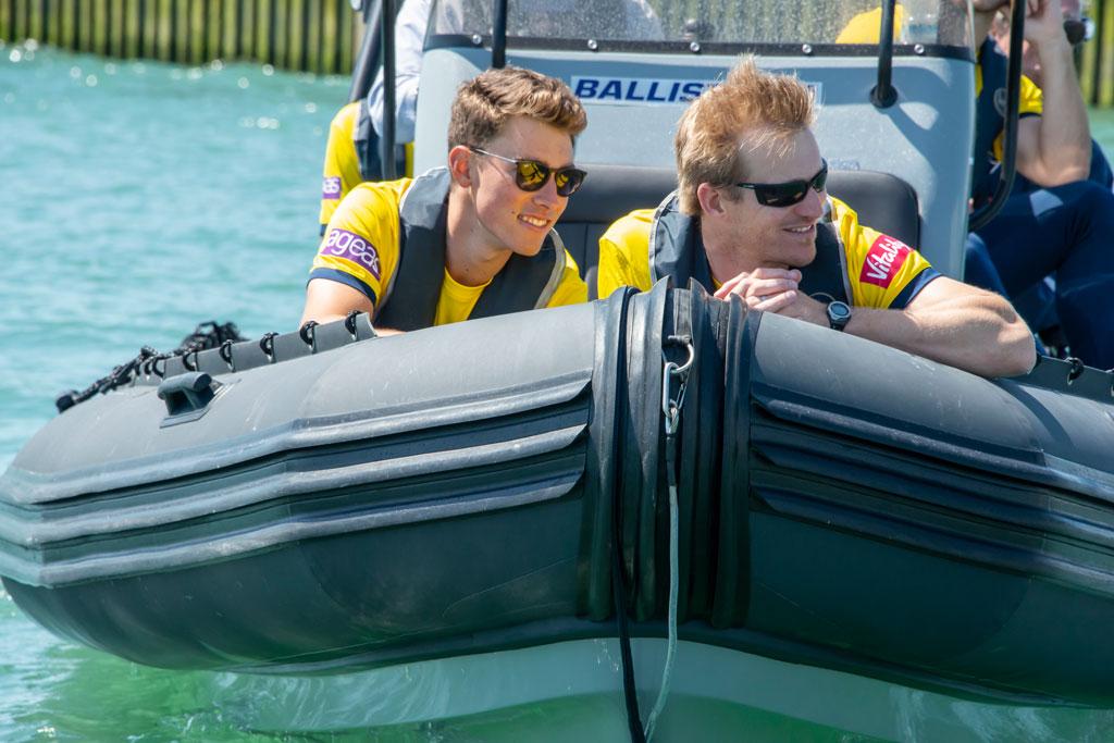 Hampshire Cricketers corporate boating day Boat Club Trafalgar