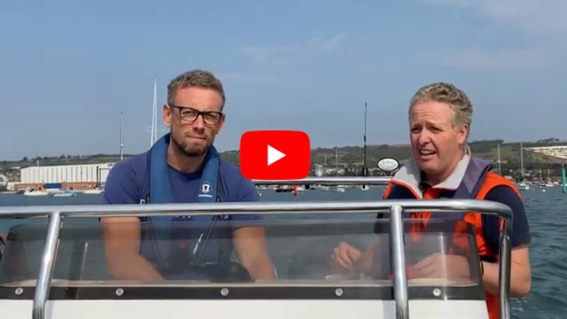 Sam Pinkham discovers hassle free boating at Boat Club Trafalgar