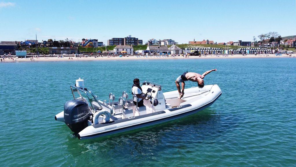 Boat Club Trafalgar cruise to Swanage